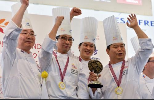 South Korea Winners!